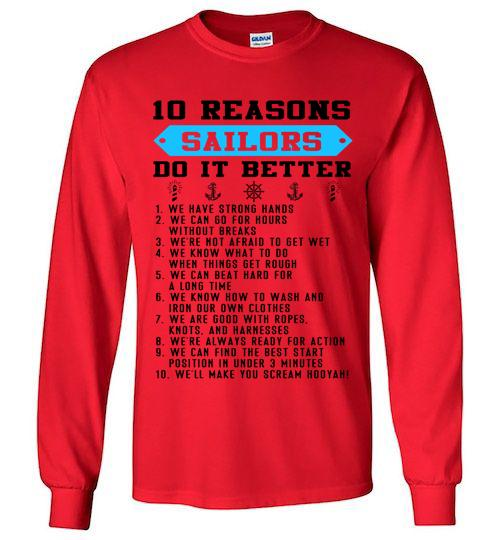 10 Reasons Sailors Do It Better We Have Strong Hands Can